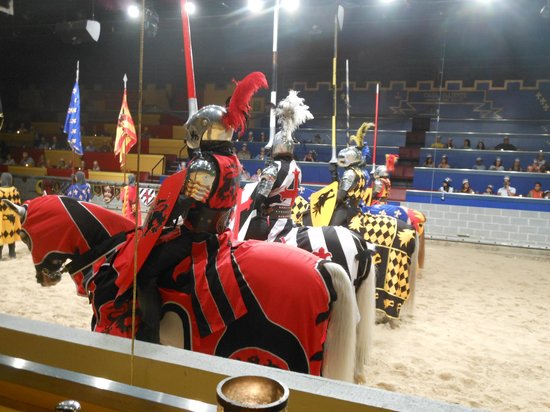 Medieval Times: Preparing for the Tournament