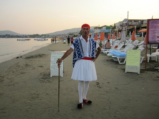 Astir Palace Hotel: Traditional Greek outfit.