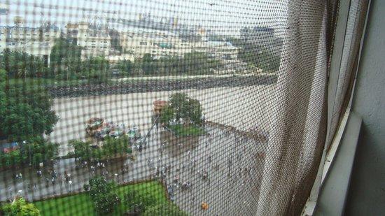 The Taj Mahal Palace: Gateway precinct soaked in monsoon
