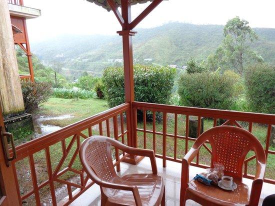 KTDC Tea County Munnar: Balcony