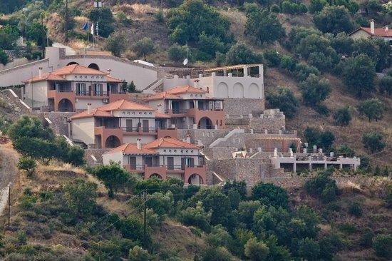 Apelon Tiritas Villas : ΠΑΝΟΡΑΜΙΚΗ ΑΠΟΨΗ ΣΥΓΚΡΟΤΗΜΑΤΟΣ
