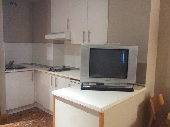 Apartahotel Exe Campus San Mamés: cocina