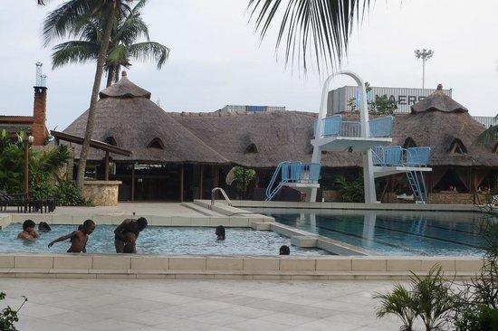 Hotel du Port : プール