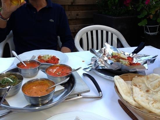 Restaurant Bollywood Tandoori : Bollywood thalj e chicken tikka