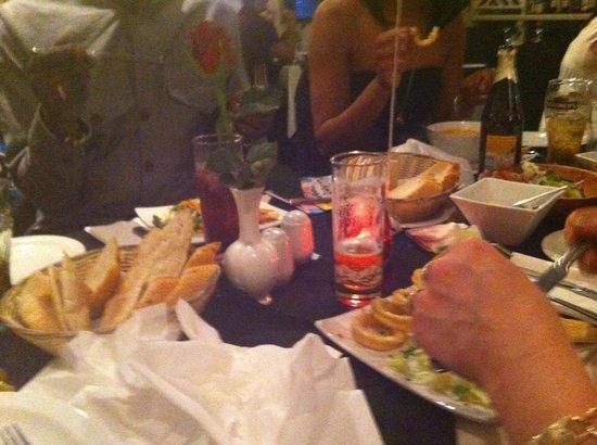 Emilios Greek Restaurant: Birthday celebration