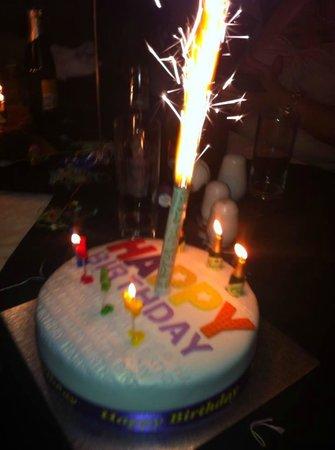 Emilios Greek Restaurant: happy birthday