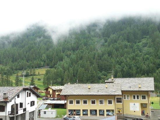 Hotel Parco Nazionale : Dalla mia camera, in un mattino di nebbia
