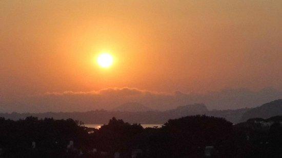 Hotel Bellevue Benessere e Relax : Panorama all'alba
