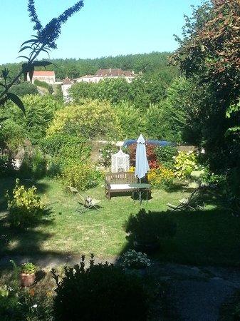 Les Hortensias : le jardin