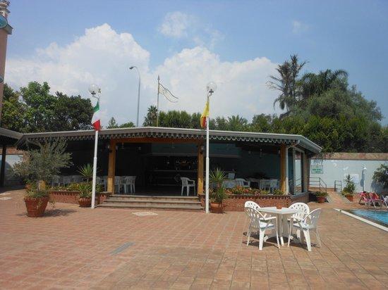 Hotel Orizzonte - Acireale: BAR VICINO LA PISCINA