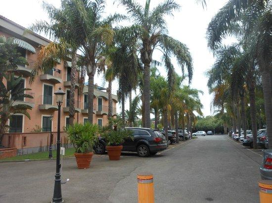 Hotel Orizzonte - Acireale: PARCHEGGIO