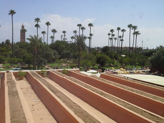 Sensimar Medina Gardens : toit du restaurant