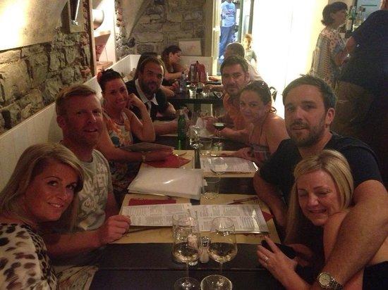 Aperitivo Et Al Bar : Dinner for 8