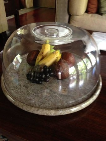 Gending Kedis Villas & Spa Estate: welcome fruits