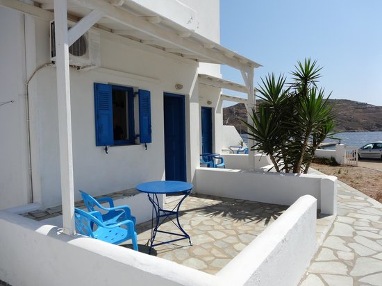 Aeolos rooms - downstairs