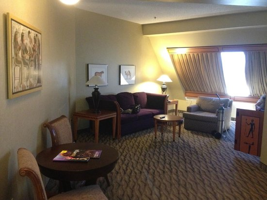 Double Queen Pyramid Suite View Of Beds Picture Of