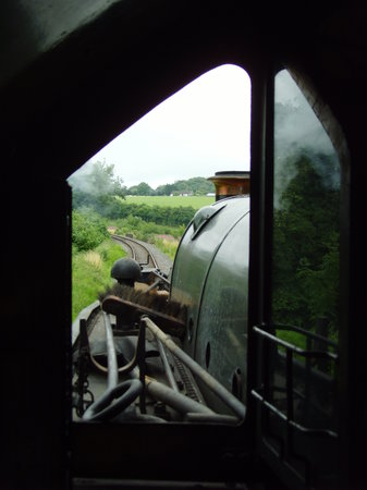 East Somerset Railway: Drivers Eye View