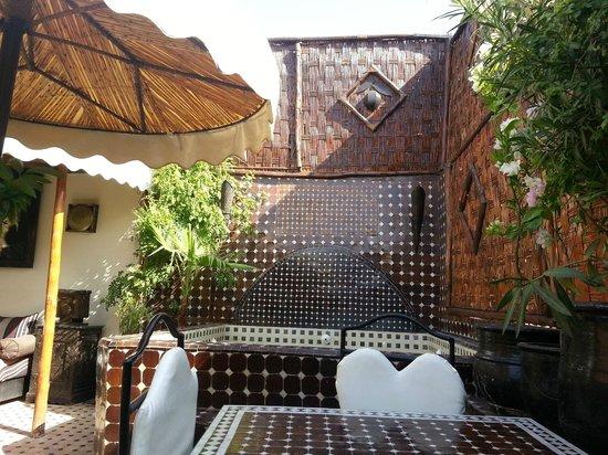 Riad Dar Najat: terrasse