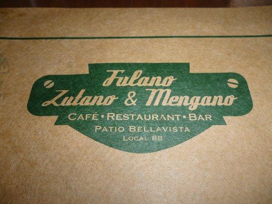 Fulano Zutano Mengano : Logo