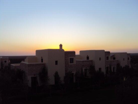 Essaouira Lodge: coucher du solei