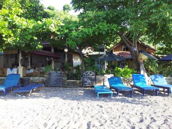 Blue Star - Bali : vue de l'hôtel