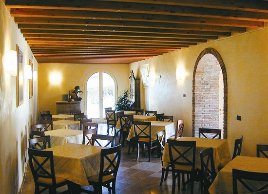 Corte Sant'Arcadio: sala colazioni