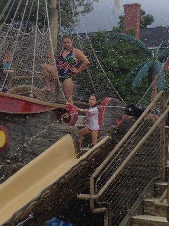 Francis Scott Key Family Resort : Pirate Sprayground