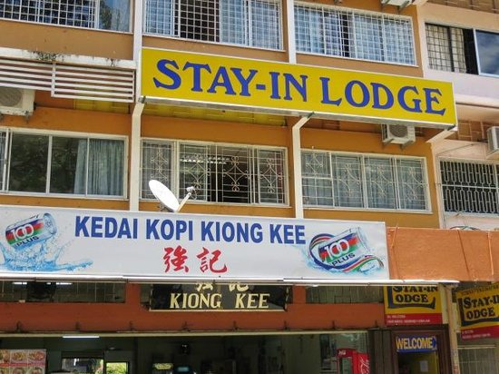 Stay-In Lodge: Outside on Jalan Gaya