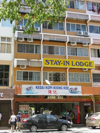 Stay-In Lodge: View from across the road