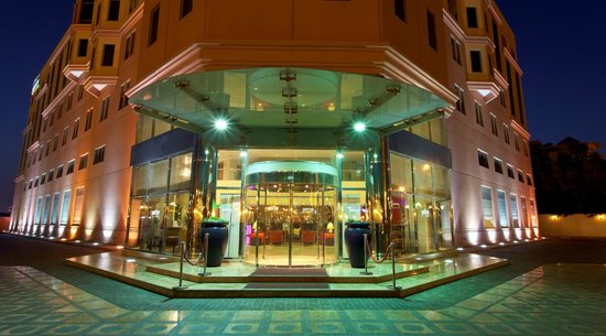 Park Inn by Radisson Al Khobar: Main Hotel Entrance