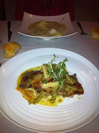 Restaurante Piazza 19: Escalope a la Milanesa