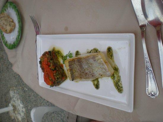 Restaurant Domaine de Villeray : le poisson de mon mari