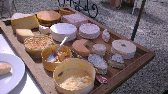 Restaurant Domaine de Villeray : Plateau de fromage