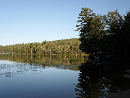 Pine Knoll Campground: Lake Iona