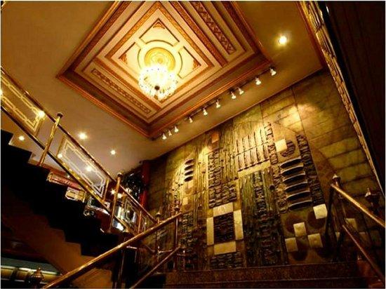 The Tawana Bangkok: Elegant Stairs Leading to the Ballroom,  Restaurant & Poolside