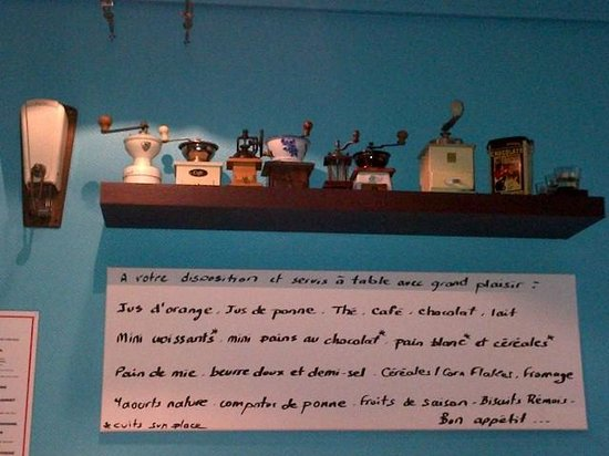 Hotel Azur: Breakfast room