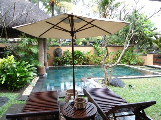 The Oberoi, Mauritius: Our private pool