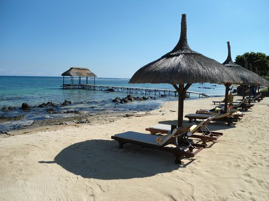 The Oberoi, Mauritius: The beach and jetty