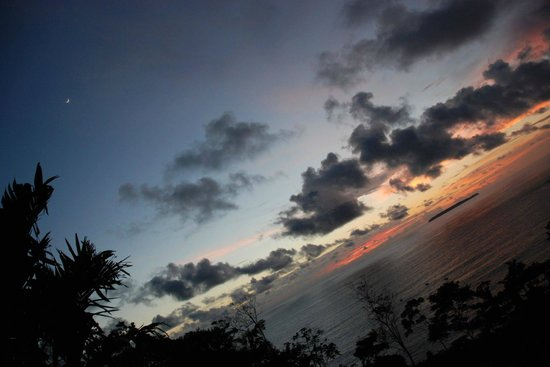 Casa Corcovado Jungle Lodge: view from sunset poit