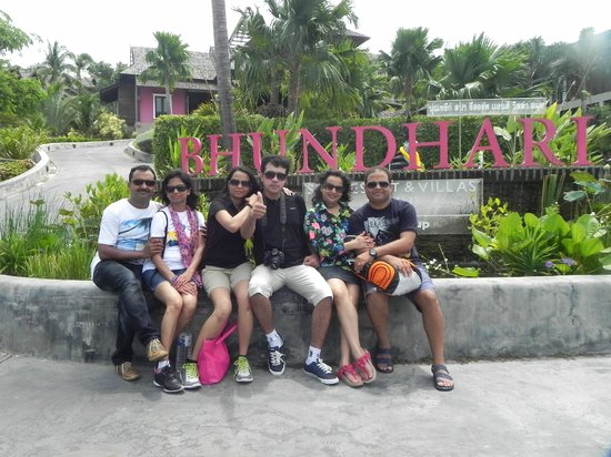Bhundhari Spa Resort & Villas Samui: Fun time wid frens