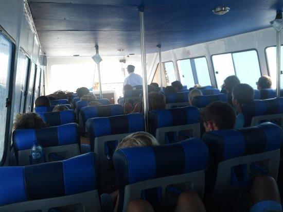 Ocean Star Express: Inside the boat
