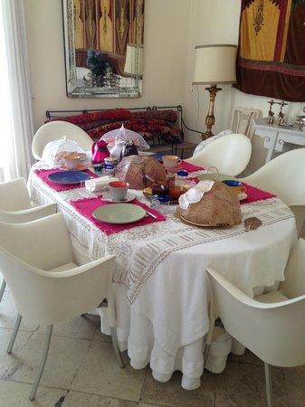 Casa Bormioli : Breakfast room