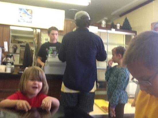 Spudnut Shop: Happy kids!