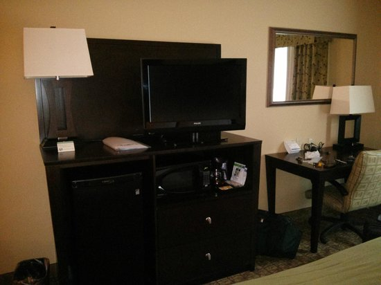 Holiday Inn Express Columbus - Dublin: Work area