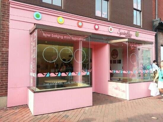 Sprinkles cupcakes: esterno negozio