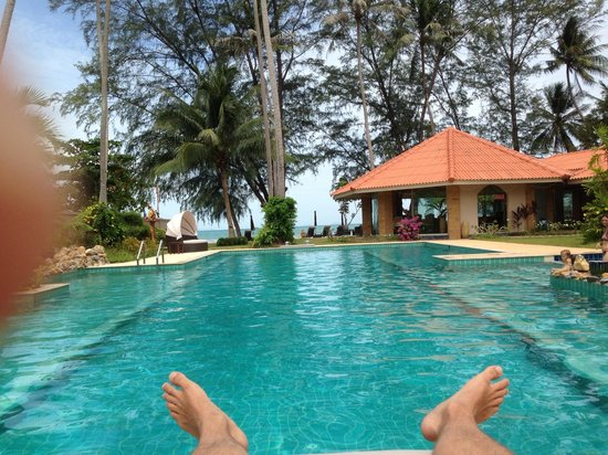 The Siam Residence Boutique Resort: Poolview