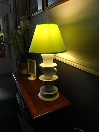 Spire House: quirky lamp