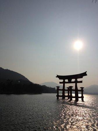Miyajima: sunset