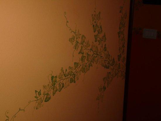 I Merli e I Malvizzi: particolare parete