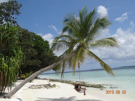 Vilamendhoo Island Resort & Spa: EL MEJOR SILLON DE LA ISLA